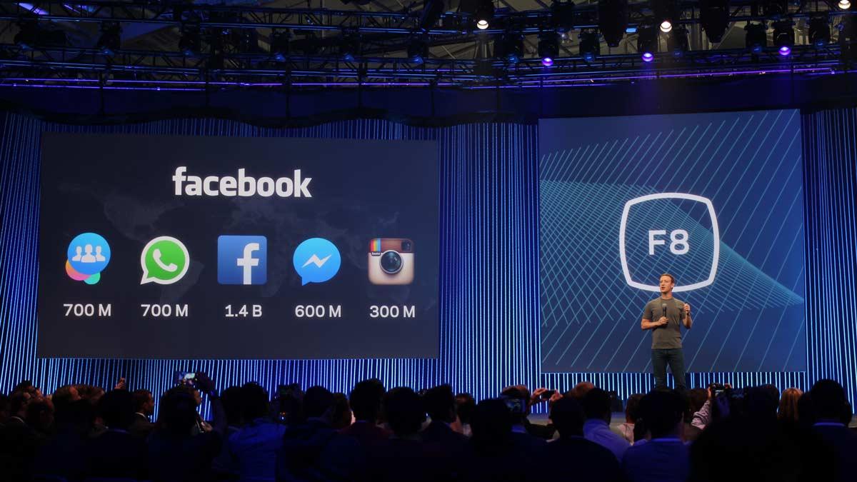 F8 Facebook Developers Konferenz