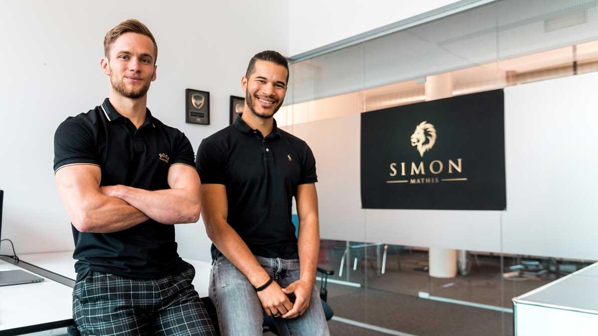 Simon Mathis und Malcolm Kessler