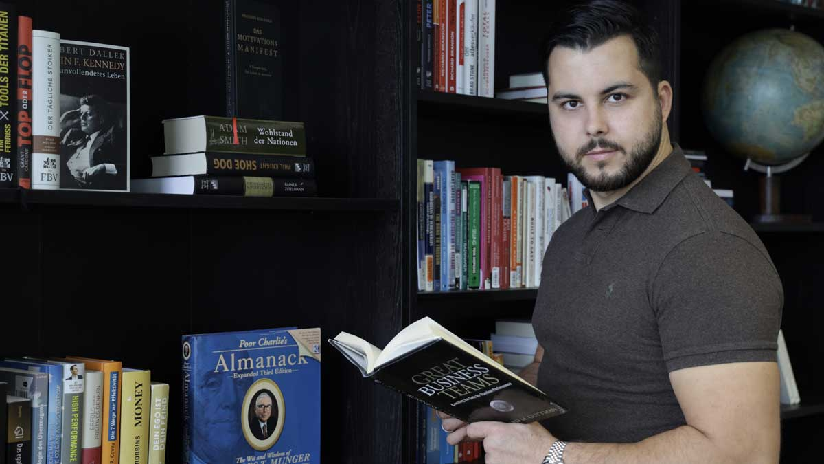 Ricardo Biron ist Buchmarketing-Experte