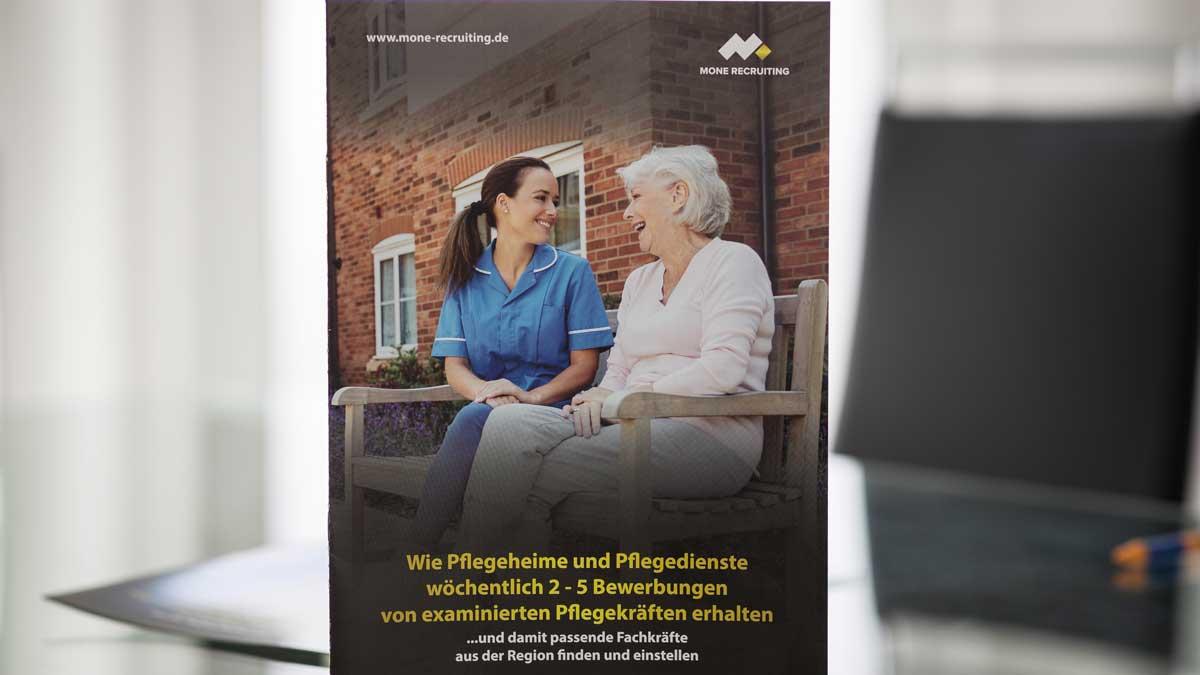 Online Pflegekräfte suchen