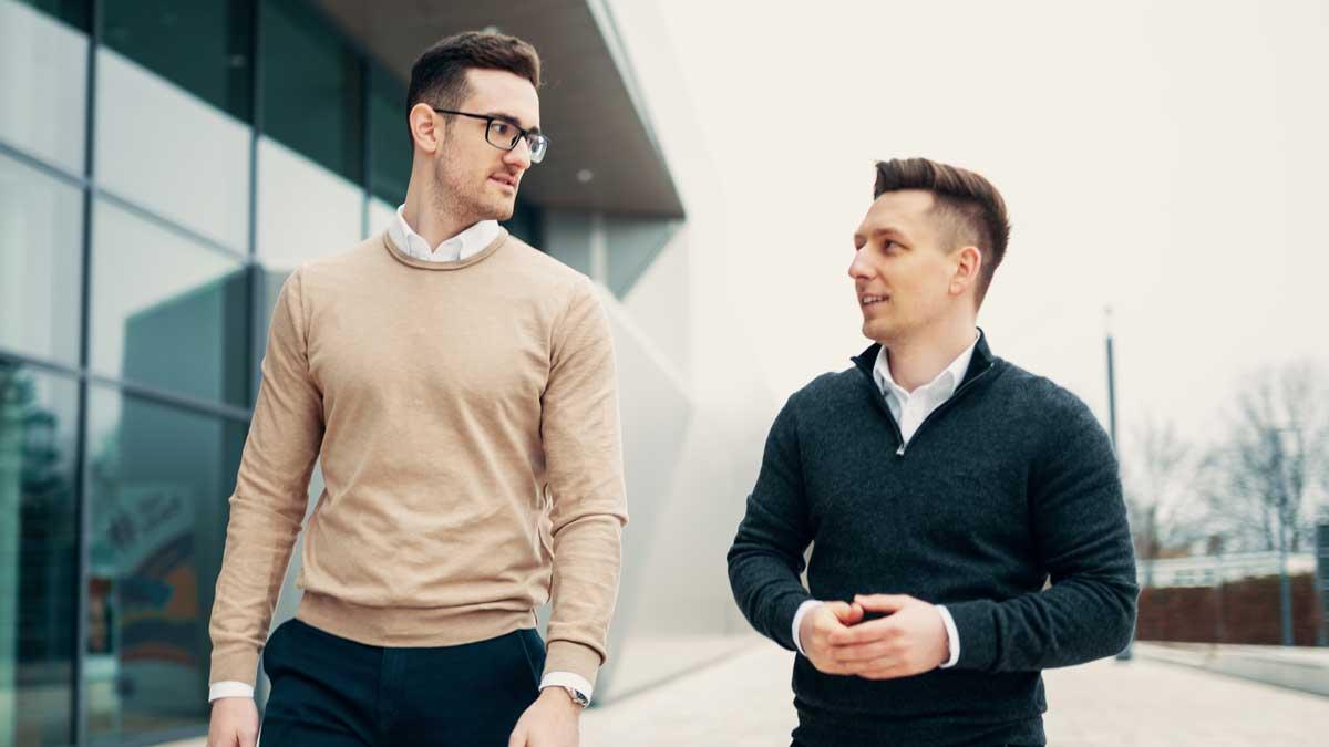 Michael Moskal und David Neumann von MONE Recruiting