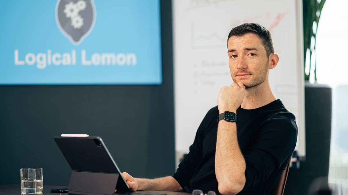 Jonathan Laufer von Logical Lemon