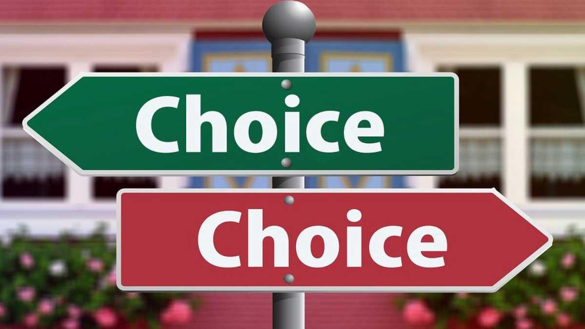 Entscheidungen treffen