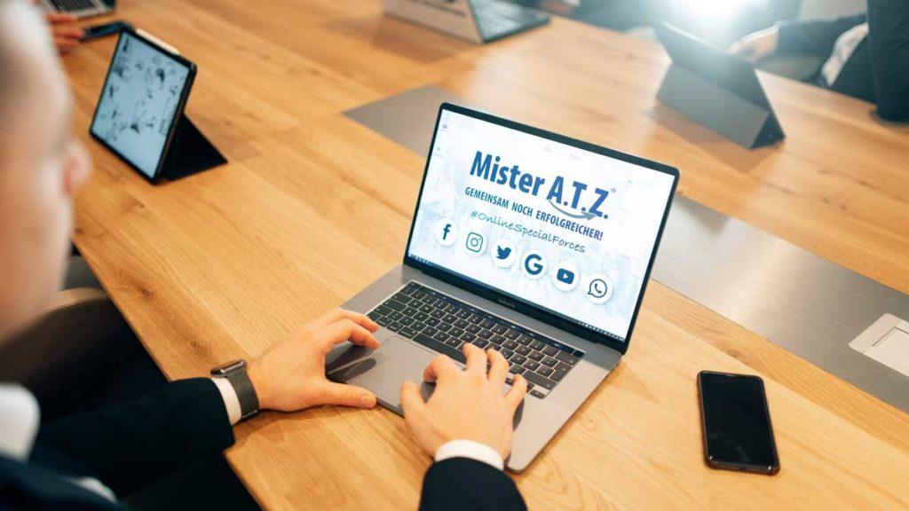 Beratung von Mister A.T.Z.