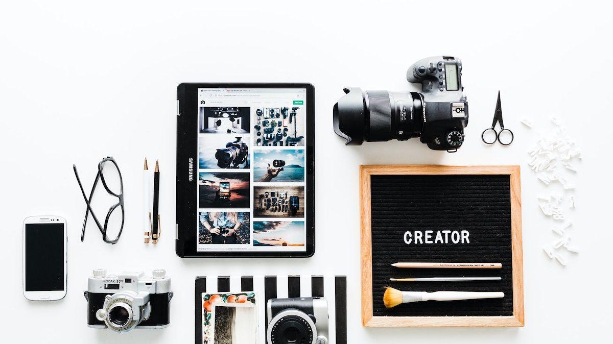 Produktbilder und Dienstleistungsbeschreibungen auf Instagram