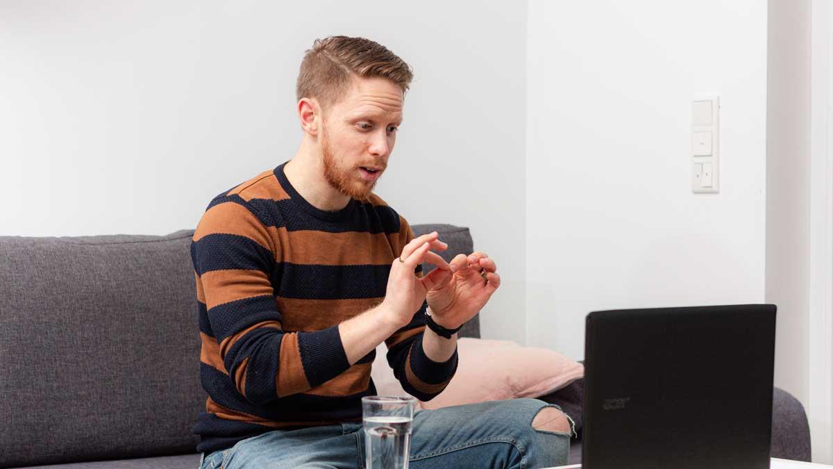 Jonathan Makkonen ist gelernter Sozialpädagoge
