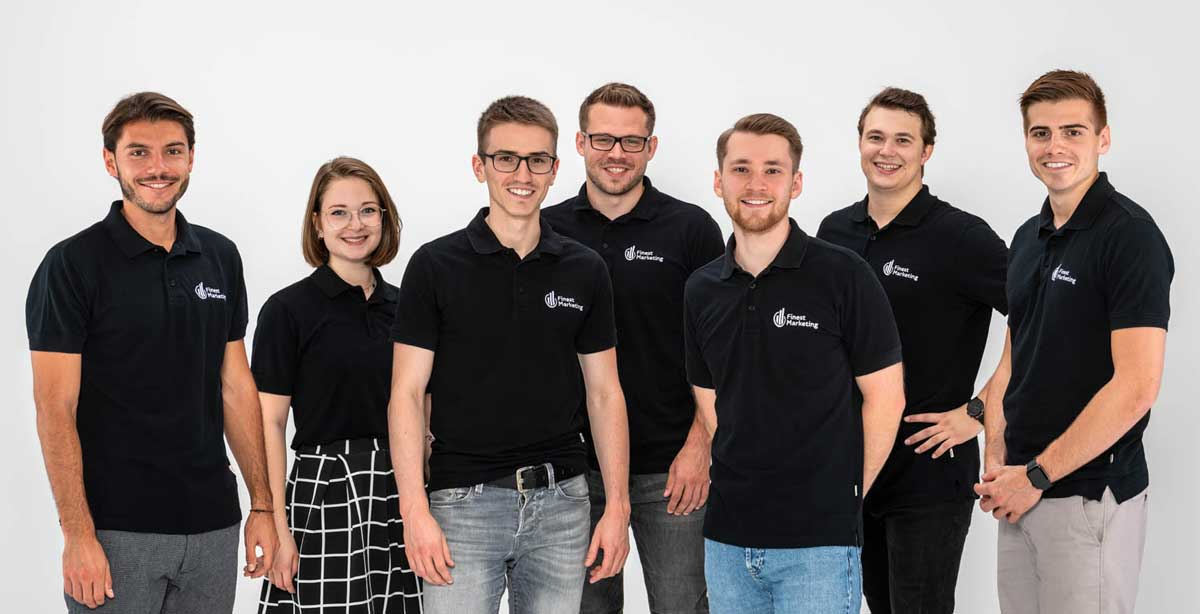 Das Team der Finest Marketing GmbH