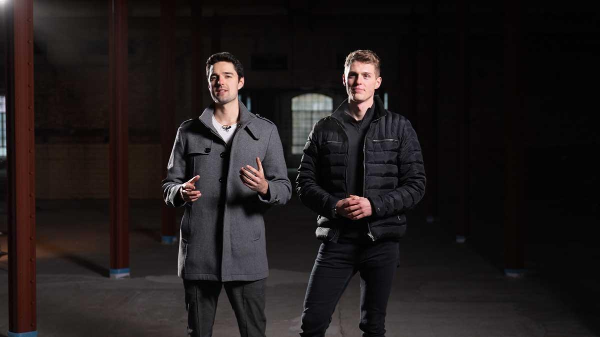Jack Bolz-Mendel und Stanislav Malorodov von Guardian Technologies