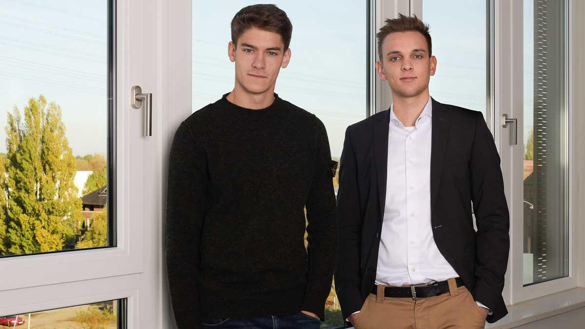 Lorenz Thaden und Tim Bauer von Seiten-Werk