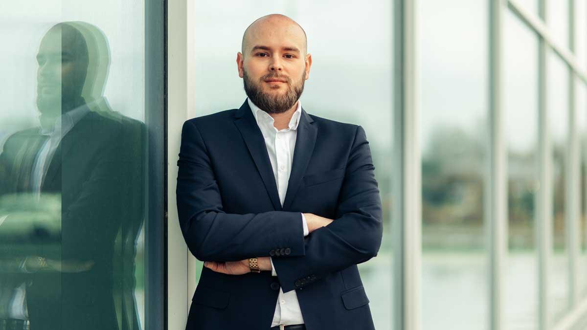 Erich Wolf von der SpaBa Finanz
