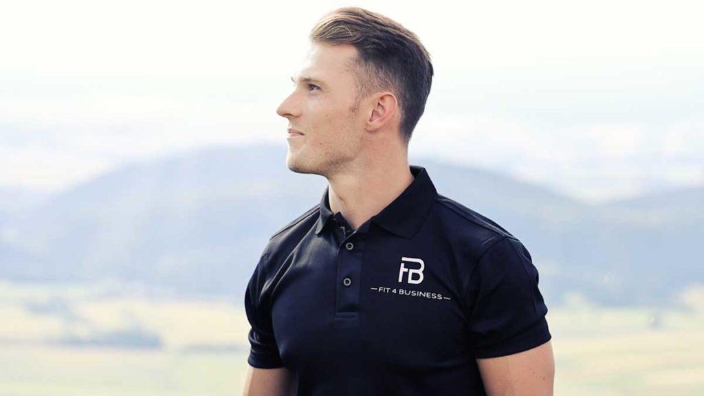 Stefan Cerny von Fit4business verbindet Gesundheit und Karriere