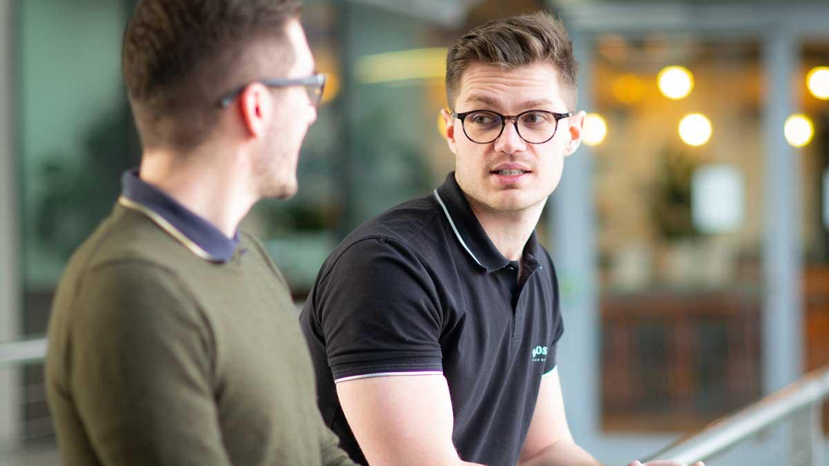 Adrian Philipp und Gabriel Haug unterstützen Angestellte auf dem Weg zum eigenen Business mit Leidenschaft