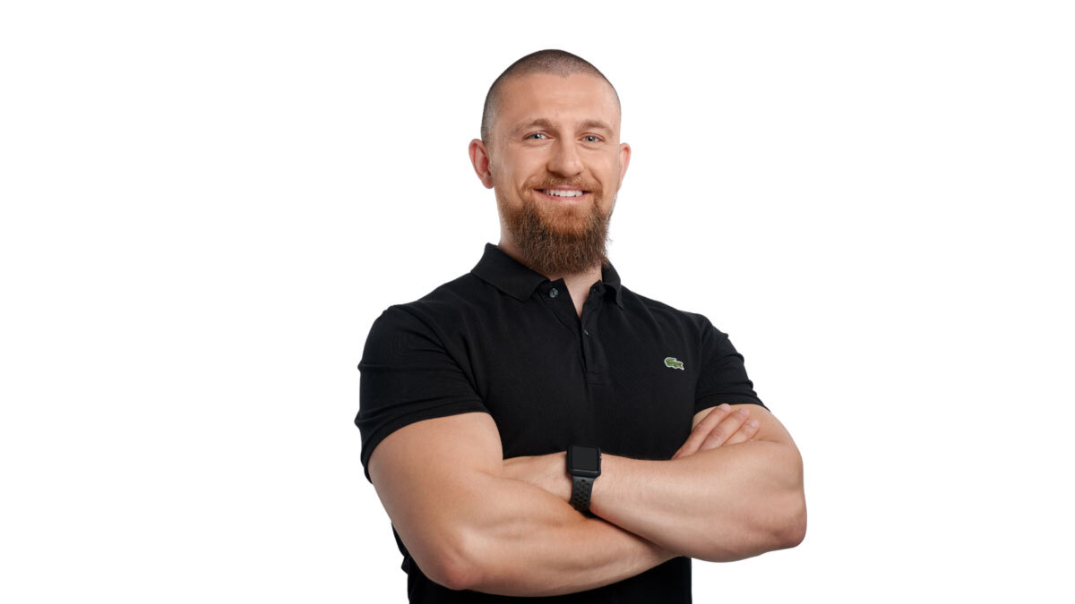David Bachmeier ist Personal Trainer
