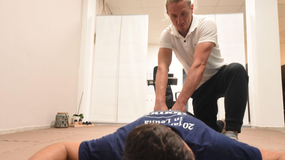 Steve Kraneis ist Physiotherapeut