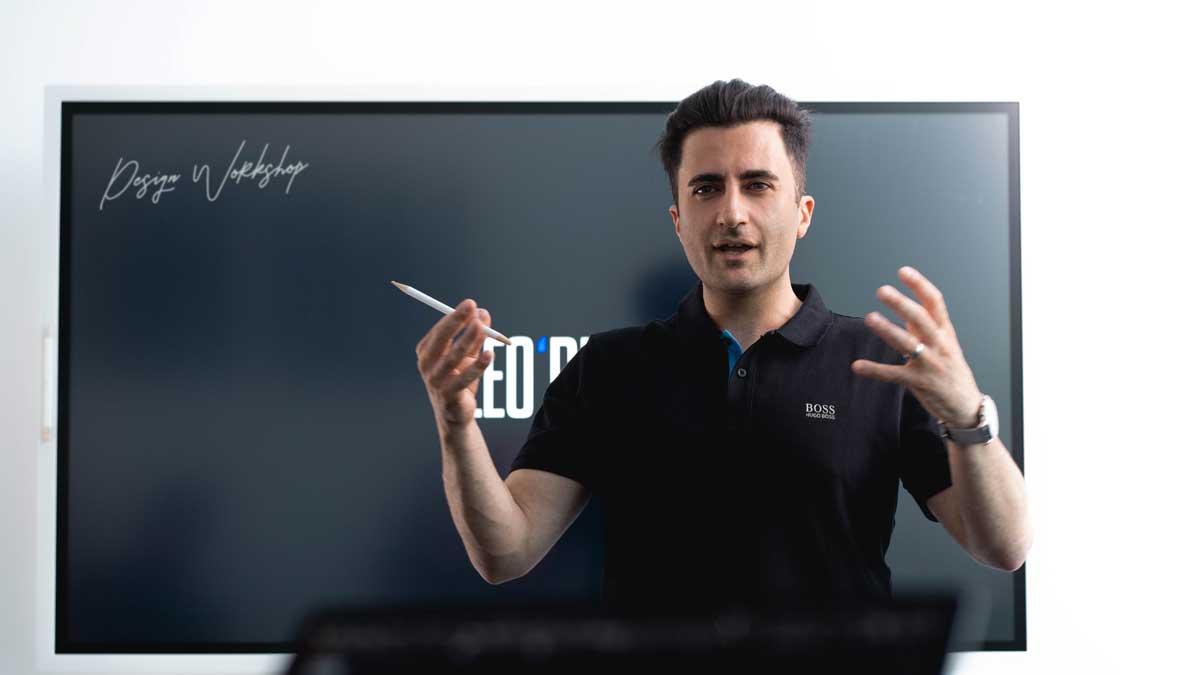 Georg Arutti hilft Unternehmen mit der richtigen Optik zu mehr Kunden