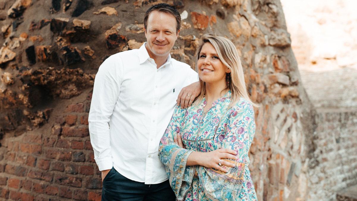 Judith Hoffmann und Ben Hoffmann