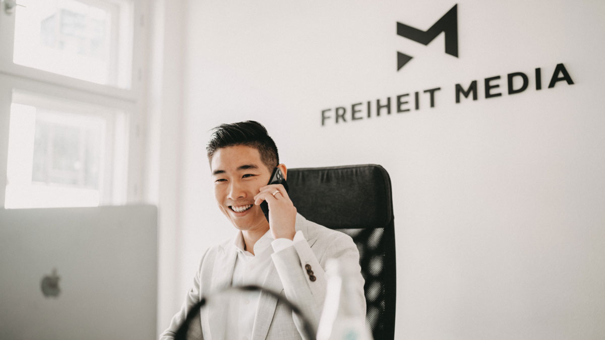 Tin Phan von der Freiheit Media GmbH